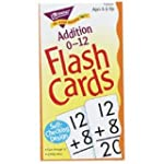 Math Flash Cards, Addition, 0 To 12, 3