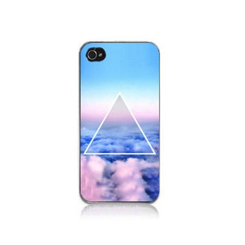 S9Q Nebula Galaxy Space Universe Vintage Retro Snap On Hard Case Cover Back Skin Protector For Apple Iphone 5C Style D (Blue Cloud)