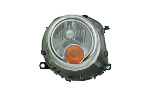 TYC 20-6888-00 Mini Cooper Driver Side Headlight Assembly (Mini Cooper Headlight Assembly compare prices)