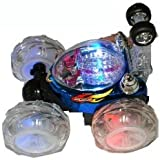 Turbo Twister Rc (Remote Control) Stunt Car with Flashing Lights on the Wheels