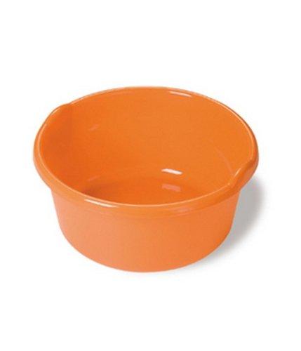 Bacinella tonda in plastica 13 lt Belli e forti, arancio