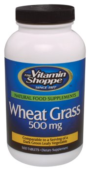 Vitamin Shoppe  Wheat Grass 500 mg 500 tablets