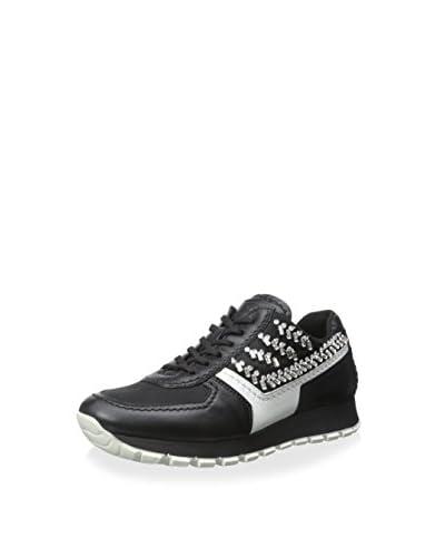 Prada Women's Sneaker with Crystals