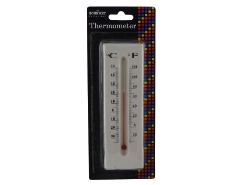 BRAND NEW CLASSIC WALL HANG THERMOMETER / OUTDOOR THERMOMETER - HIGHLY ACCURATE- QUICK AND EASY TO HANG - WORKS INDOOR AND OUTDOOR ALSO - ACCURATE TO 1 C - LARGE EASY TO READ