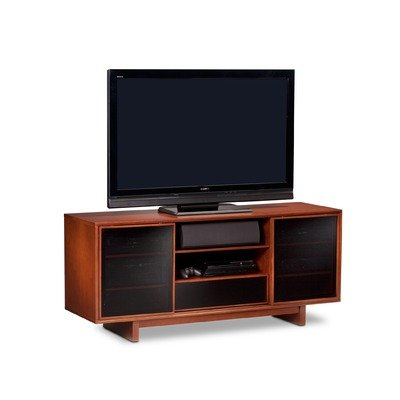 Cheap Cirrus 65″ Console Height TV Stand in Natural Stained Cherry (8158CH)