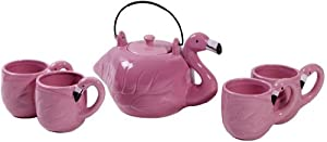 FLAMINGO 5PC SHAPE TEA SET GB