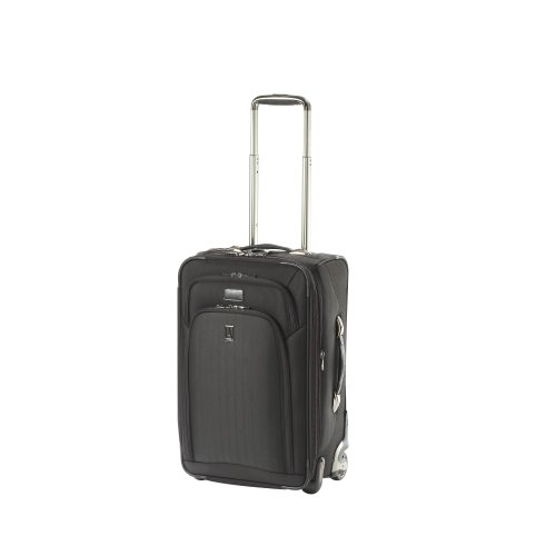 Travelpro Luggage Platinum Expandable Rollaboard Suiter, Black, One Size best seller