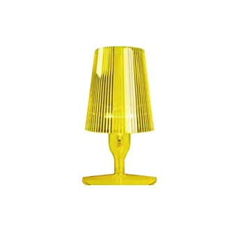 kartell 9050q6 lampe de chevet take jaune. Black Bedroom Furniture Sets. Home Design Ideas