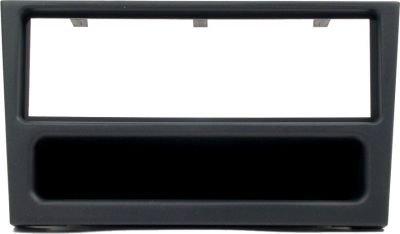 Autoleads-VauxhallOpel-AstraZafira-Stereo-Radio-Adapter-Oberschale-ArmaturenbrettFp-19-01Schwarz