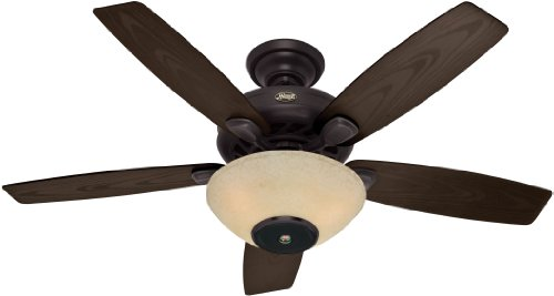 Hunter 21623 52-Inch Concert Breeze Ceiling Fan With Wireless Sound System, New Bronze