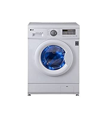 LG F10B8NDL2 Six Motion Direct Drive Front-loading Washing Machine (6 Kg, Blue White)