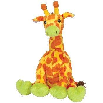 TY Beanie Baby - GIRAFFITI the Giraffe (Circus Beanie) - 1