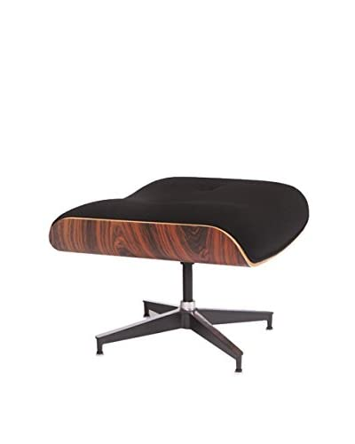 LeisureMod Modern Plywood Zane Lounge Ottoman