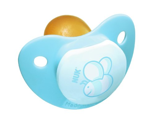Nuk Rose And Blue Latex 2 Pack Bpa Free Pacifier, Size 2, Colors May Vary front-929174