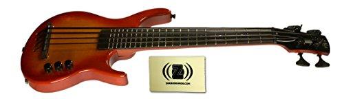 Kala U-Bass S-U-B Solid Body Short-Scale Cherry Sunburst Electric Bass Bundle With Polishing Cloth