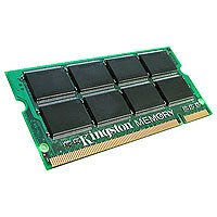 Kingston   Memory   1 GB   SO DIMM 200 pin   DDR II   533 MHz   PC2 4200   CL4   1.8 V   unbuffered   non ECC