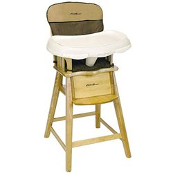 Eddie bauer wood high chair replacement pad
