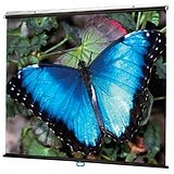 "Review Draper V Screen Manual Projection Screen - 70"" x 70"" - Matte White - 99"" Diago..."