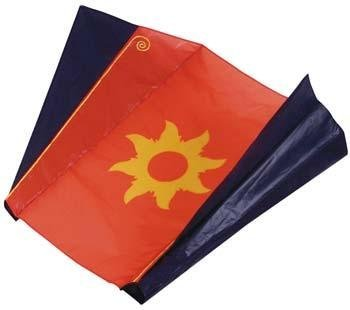 Sled Kite with Sun Design