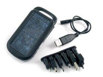 Tenergy USB-5000 Hybrid Solar Charger for Mobile phone, iPod/MP3 Player, PDA, Game Player, GPS and Digital Camera