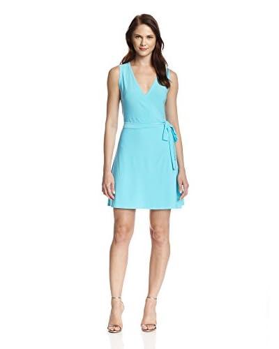JB Julie Brown Women's Rica Sleeveless Wrap Dress