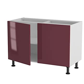 Pas cher atelier du menuisier meuble cuisine bas 120cm for Atelier du meuble