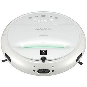 SHARP ロボット家電 COCOROBO ホワイト系 RX-V100-W