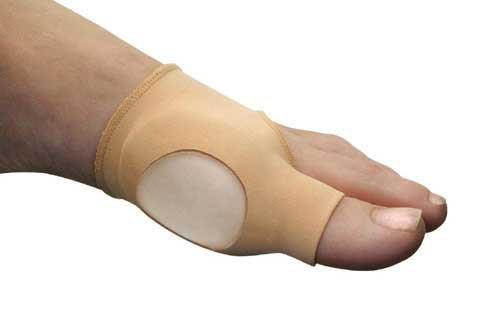 Comfort Gel Skin Bunion Relief Thin Dress Small/Medium