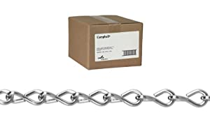 Single Jack Chains - #12 bk steel jack chain