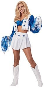 Dallas Cowboys Cheerleader Costume - Small - Dress Size 6-10