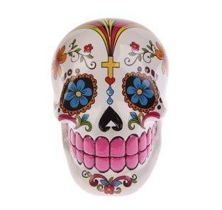 The Gift Closet Salvadanaio a forma di teschio tradizionale messicano per il giorno dei morti