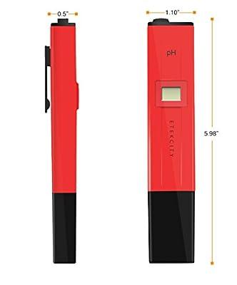 Etekcity® High Quality Digital Pocket Pen/PH tester/Pen Type PH Meter/Water Quality