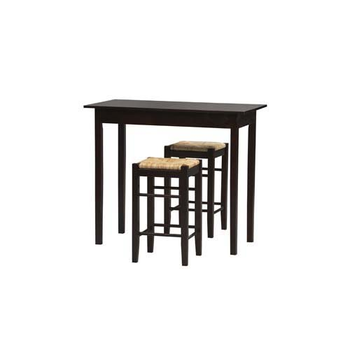 Three Piece Tavern Set With Stools