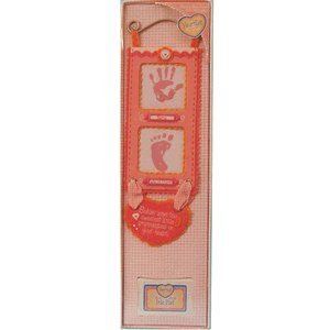 Heartfelt Hand and Footprint Wall Hanging - For Girls