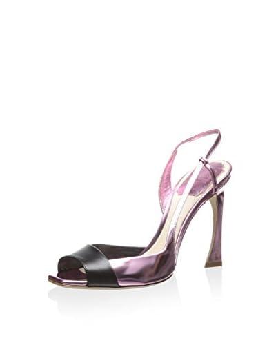 DIOR Women's Open Toe Sandal  [Rose Noir]