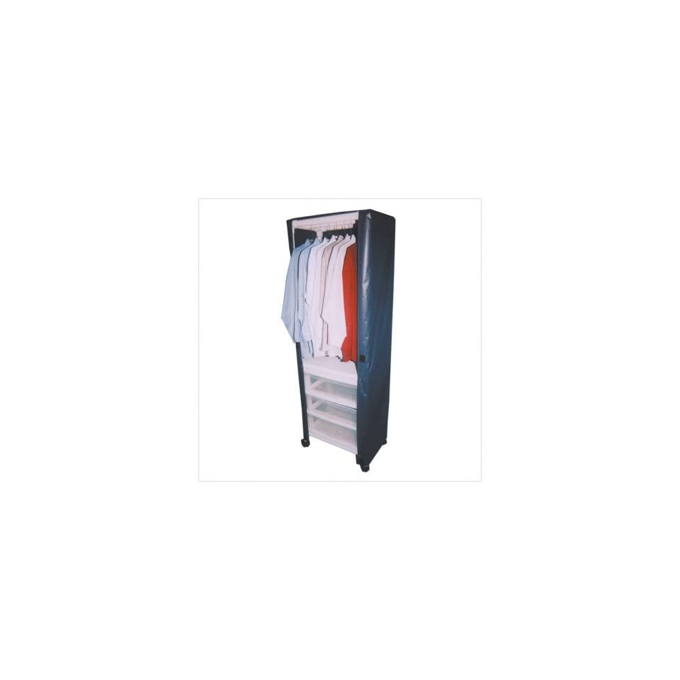 MJM International 325 HC KIT Hanging Linen Cart with Cover and Optional Accessory Bags