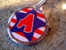 Pet ID Tag - Patriotic Star