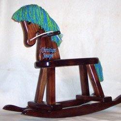 Personalized Boy's Rocking Horse
