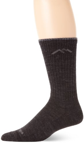 Darn Tough Standard Issue Mid-Calf Light Socks,Charcoal,Small