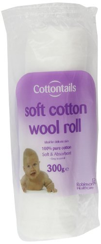 Cottontails 300g Cotton Wool Roll