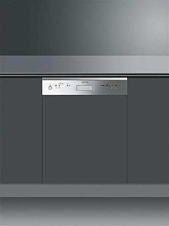 Smeg PL531X Lave-vaisselle 47 dB A+ Gris, Argent