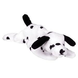 Ty Beanie Babies / Baby - Dotty Dalmatian Puppy Dog Plush Beanbag