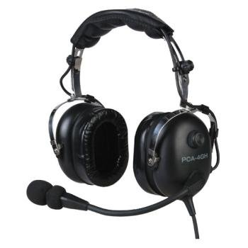 Pacific Coast Avionics Pca-4Gh Helicopter Aviation Headset