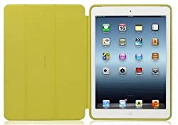 Ahha Ronay Smart Flip Folder Case Cover for Apple iPad Air - Custard Yellow (A-FPAPIPAD5-SREE)