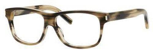 Yves Saint Laurent Yves Saint Laurent Classic 5 Eyeglasses-0WT3 Dark Horn-55mm