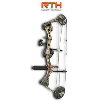 Bear Archery Encounter Ready - to - Hunt Compound Bow Package, RLTR APG, RH 28/60