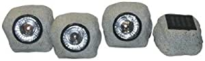 Solar Rock Lights Set of 3