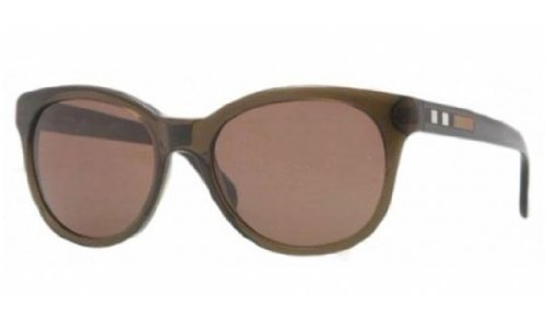 Burberry  Burberry 4132 301073 Khaki 4132 Round Sunglasses Lens Category 3