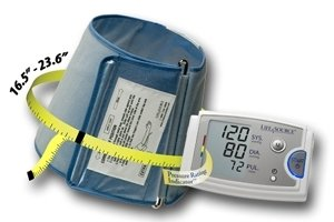 Cheap Blood Pressure Kit w/Extra Large Cuff 16.5″ – 23.6″ – AND Medical UA789AC (UA789AC)