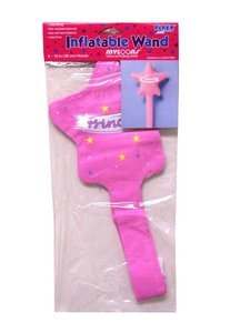 Pack of 8 Inflatable Princess Wands - 1